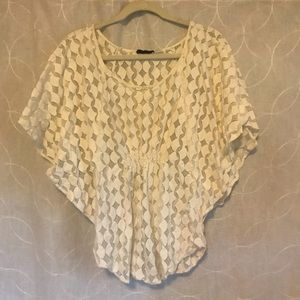 Sheer top by The Addison Story by Anthropology